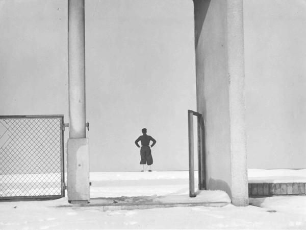 Giuseppe Cavalli, Scenario d'inverno, 1949. Archivio Eredi Giuseppe Cavalli