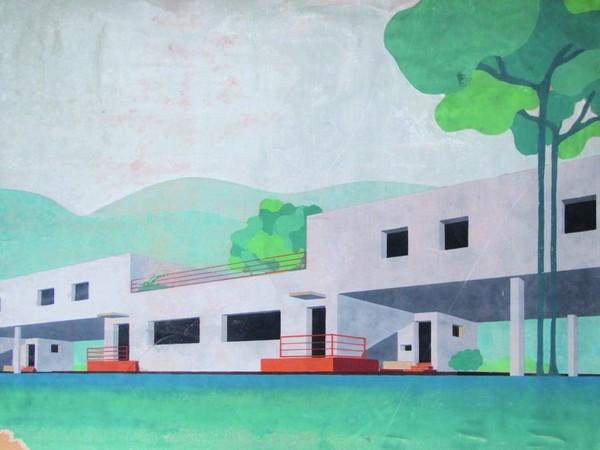 Franco Marescotti, Progetto di case per gli operai del Lanificio Rossi a Schio, 1937 con I. Diotallevi