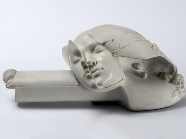 Novello Finotti, I nidi di Federica, 1982-83, marmo, 24x26x49 cm.