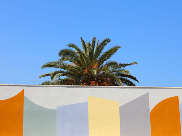 David Tremlett. Wall Surfaces (27 Stops – Bari)