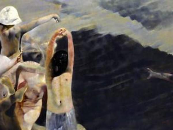 Renzo Vespignani, Colonia a Cesenatico (le spiagge del '39), 1974