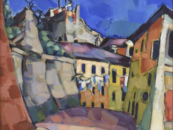 Konrad Mägi 1922-1923, Capri, motivo