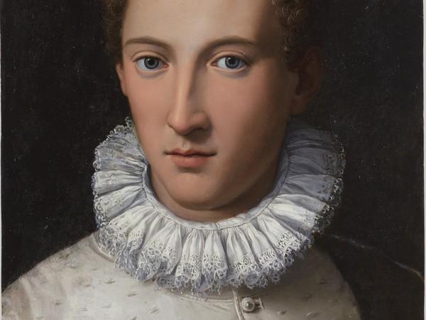 Chantilly, Musée Condé | AlessandroAllori, Ritratto di giovane uomo, Rame, 34 x 48 cm, 1565-70, Laon | © C2RMF / Thomas Clot