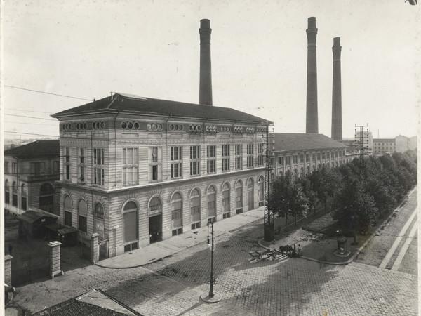 Centrale termoelettrica di piazza Trento, Antonio Paoletti, anni Venti. Archivio storico fotografico Aem