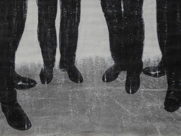Cristiano De Matteis, Legs, 60x120 cm., tecnica mista su tela