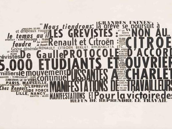 Nanni Balestrini, 65000 Etudiants, 1972