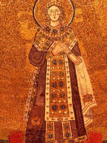 Sant'Agnese e i Papi Onorio e Simmaco
