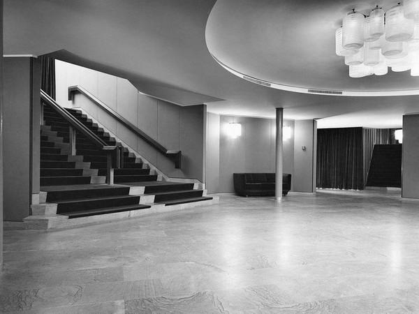 Entrata Teatro San Babila, Milano. Progetto di Mario Gottardi