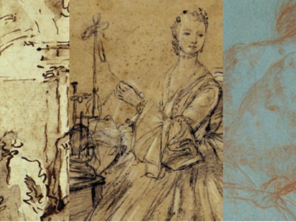 Disegnare dal vero: Tiepolo, Longhi, Guardi