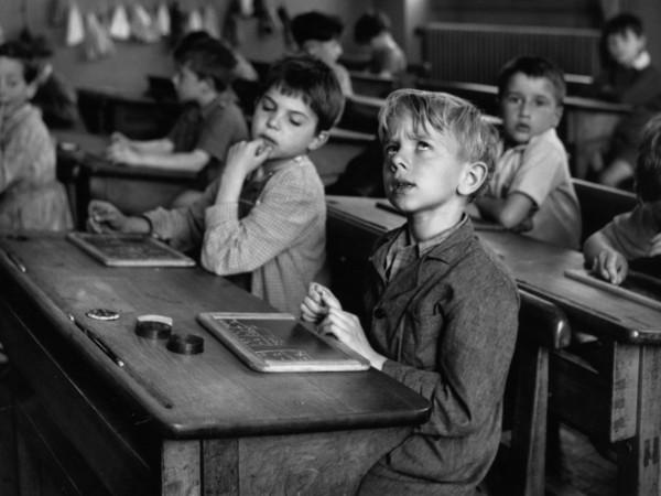 Robert Doisneau, <em>L'information scolaire</em>, Paris 1956