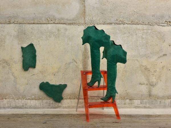 Cinzia Ruggeri, <em>Stivali Italia</em>, 1986 IPh. Rebecca Fanuele