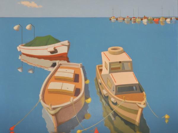 Ireneo Ravalico, 3 barche vicine e tante lontane, 1990