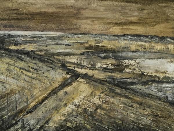 Filippo Cristini, La Zona, olio su tela, 50x70 cm, 2017