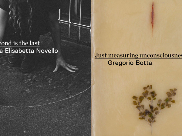 Just measuring uncosciousness. Gregorio Botta / Each Second is the last. Maria Elisabetta Novello