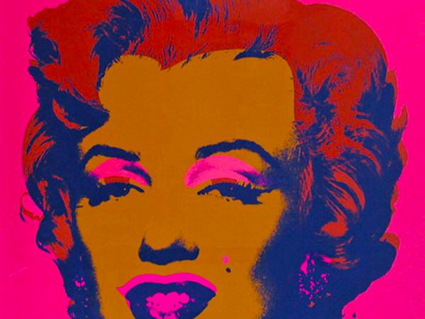 Andy Warhol, Marilyn, 1967, serigrafia su carta, 91,4 x 91,4 cm. Collezione privata Eugenio Falcioni