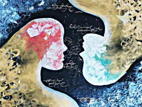 Francesca Ghidini, Raccontami il tuo mondo, cm. 100×70