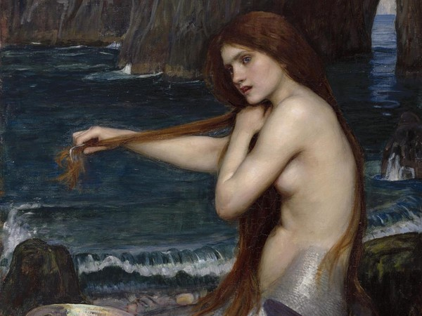 John W. Waterhouse, Sirena, 1900, Olio su tela, Londra, Royal Academy of Arts