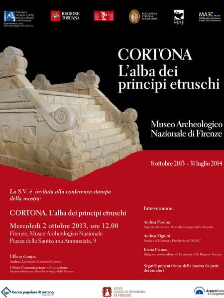 Cortona. L'alba dei principi etruschi, Museo Archeologico Nazionale, Firenze