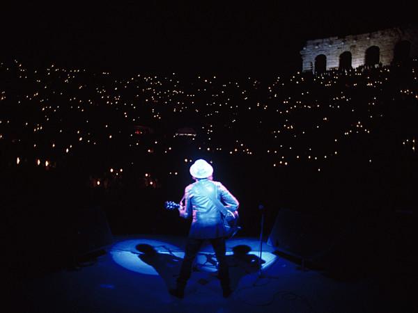 Guido Harari, Bob Dylan, Verona, Arena, 28 maggio 1984