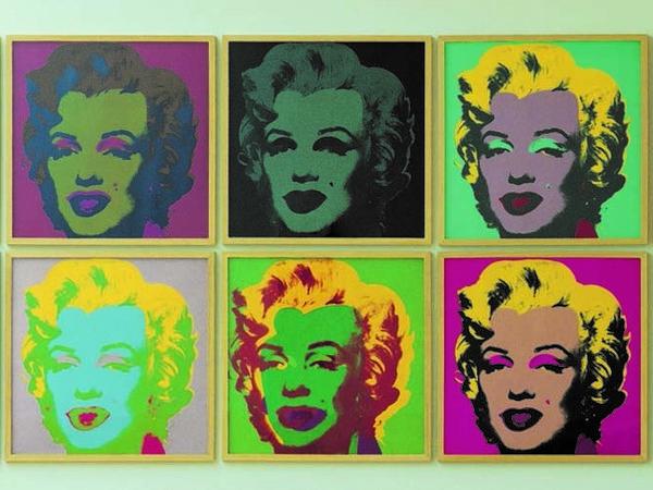 Andy Warhol, Marylin Monroe, 1967. Porfolio di 10, serigrafia, edizioni da 250. Collezione Lanfranchi, Celerina (CH)
