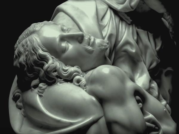 Fotogramma dal trailer del film Il Peccato. Il furore di Michelangelo, Pietà   Courtesy of Andrei Konchalovsky Studios, Jean Vigo Italia e Rai Cinema 01 Distribution