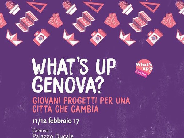Whats'up Genova? Giovani Progetti per una città che cambia