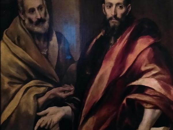 El Greco, Santi Pietro e Paolo, 1587-1592. Museo dell'Ermitage, San Pietroburgo