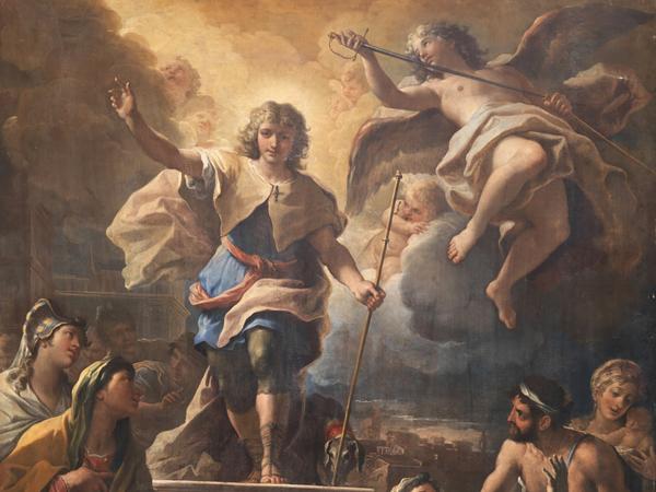 Il trionfo di San Rocco
