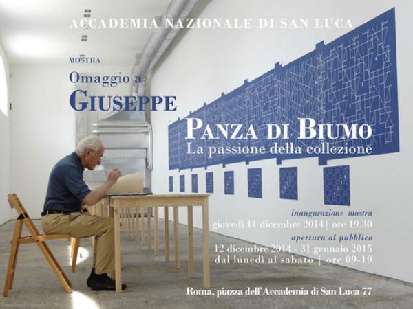 Omaggio a Giuseppe Panza di Biumo. La passione della collezione