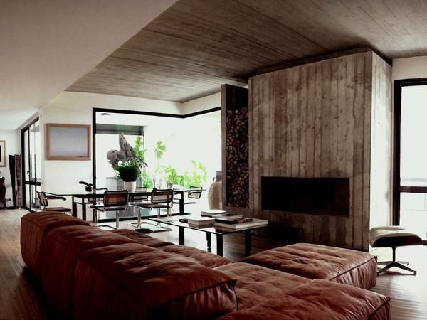 Gli architetti palermitani si raccontano studio spazio for Soggiorno minimalista
