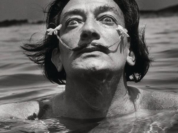 Jean Dieuzaide, Salvador Dalí, s.d. Fotografia, 82,5 x 62,5 cm. Collezione Würth, Inv. 7055