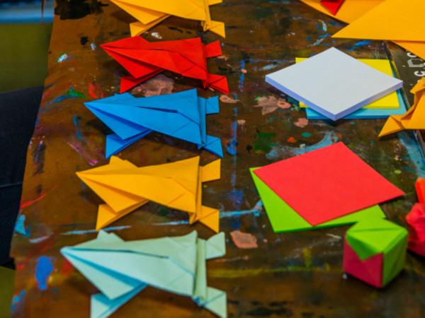 Laboratorio Pittura e Origami, Carcere di San Vittore, Milano