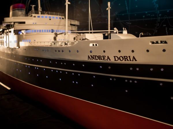 Nave Andrea Doria, dettaglio modellino