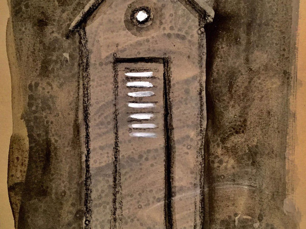 Stefania fabrizi disegno in cabina mostra roma sba for Affitti di cabina iowa lansing ia