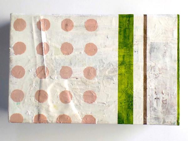 Pier De Felice, Limited Space, 2015, olio su cartone, 32x20,5x8,5 cm.