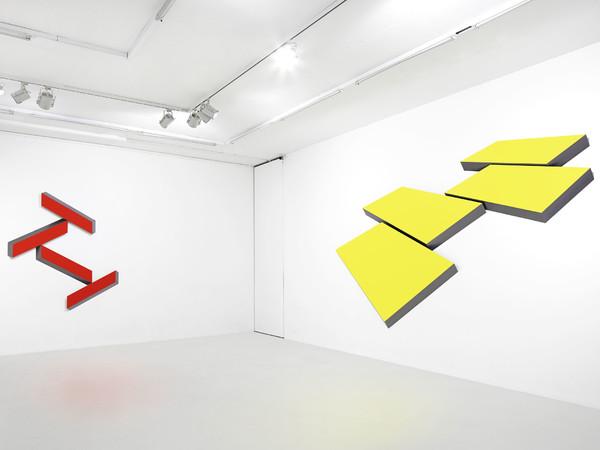 Wolfram Ullrich, allestimento della mostra alla Galerie Lange + Pult, Zürich, 2013. Foto: © Christoph Valentien, Stuttgart