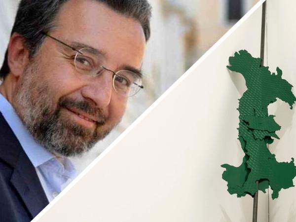 """Marco Damilano racconta """"Italia all'asta"""" di Luciano Fabro"""