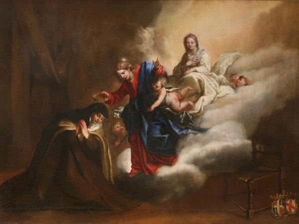 Guidobono, Cristo incorona Santa Teresa d'Avila