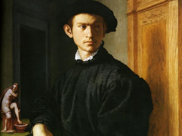 Agnolo Bronzino, Ritratto di giovane con liuto (1532-1534), Firenze, Galleria degli Uffizi