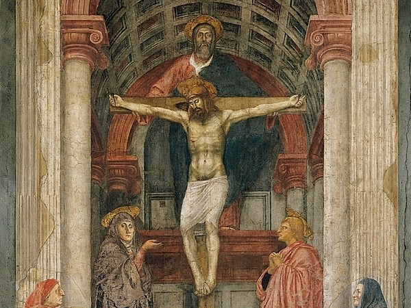 an analysis of masaccios 1428 the holy trinity