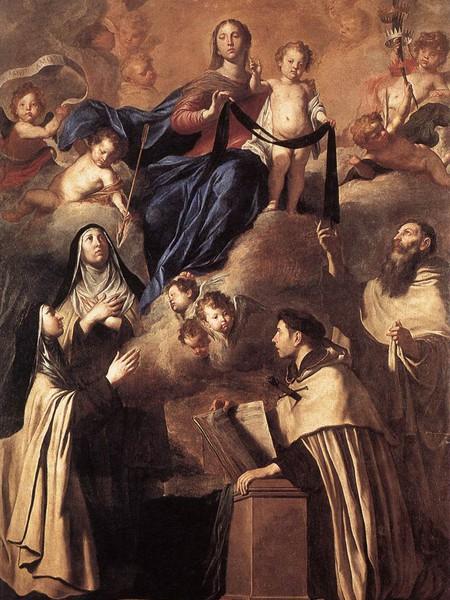 Nostra Signora del Carmelo e Santi