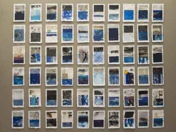 Marco Tancredi, Carte nomadi, Musei di Nervi - Galleria d'Arte Moderna, Genova