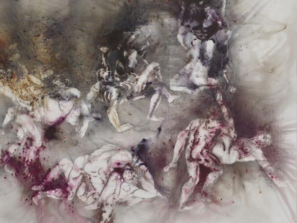 Firenze, i fuochi d'artificio ispirati a Botticelli dell'artista cinese Cai Guo-Qiang