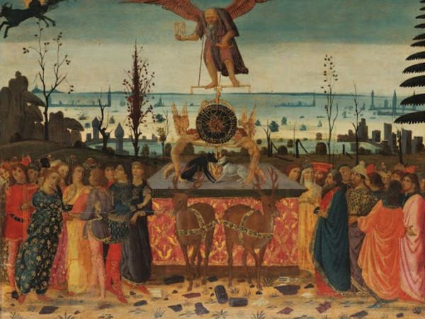Jacopo del Sellaio, Trionfo del Tempo, 1485-'90 ca. Fiesole, Museo Bandini