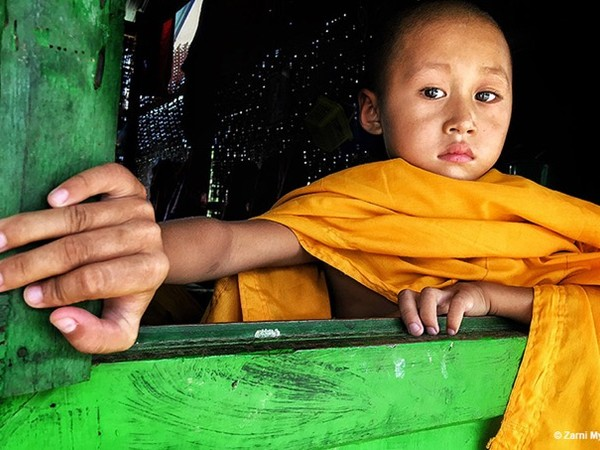 Myanmar, Zarni, Myo Win, Novice is thinking somethings, Portraits