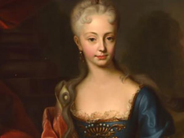 Ritratto di Maria Teresa d'Austria da giovane