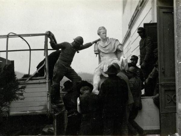 1917-1918 Possagno e Canova: tra il Brenta e il Piave