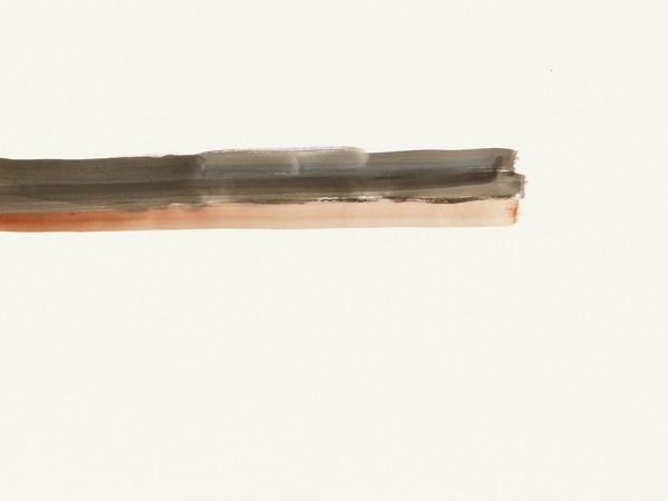 Silvia Bächli, Untitled, 2016. Gouache on paper, 44×62 cm.