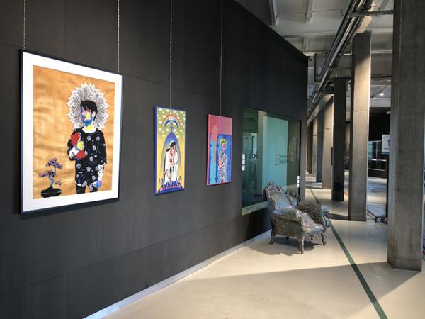 Open Innovation Art, Cariplo Factory, Milano, allestimento