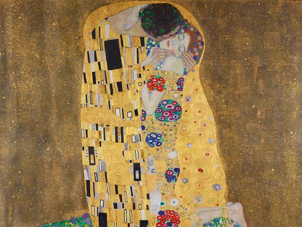 Gustav Klimt, Il Bacio, 1907-1908, Vienna, Österreichische Galerie Belvedere | Courtesy of Österreichische Galerie Belvedere, Wien